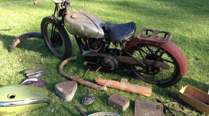 1938 Royal Enfield S2 project bike – SOLD
