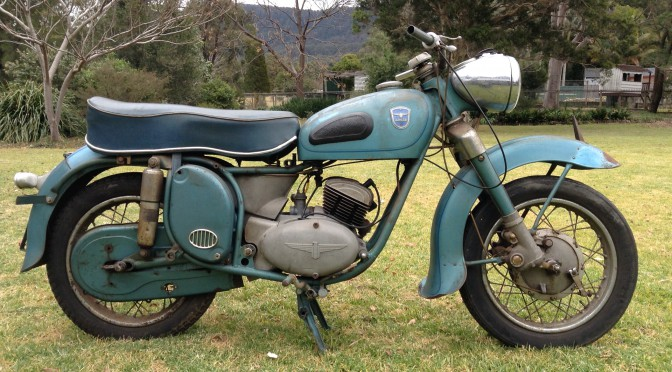 1958 Adler 250cc 'Favorit' – SOLD