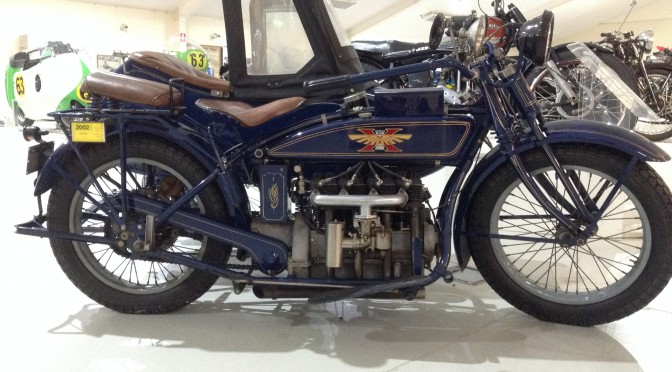 1923 Henderson 'K Model Deluxe ' with sidecar – FOR SALE