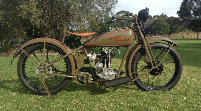 1928 Harley Davidson Ohv Peashooter: American Classic