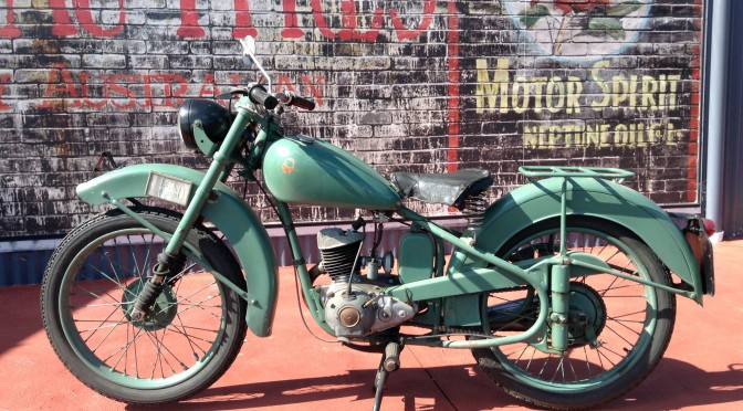1950 BSA 'Bantam' D1 – SOLD