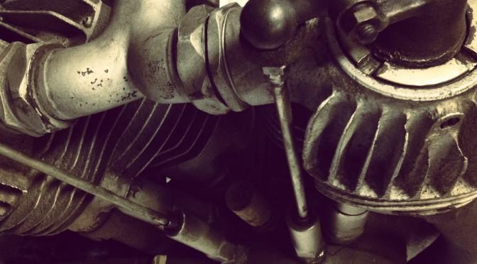 1926 J model Harley Davidson twin engine – SOLD
