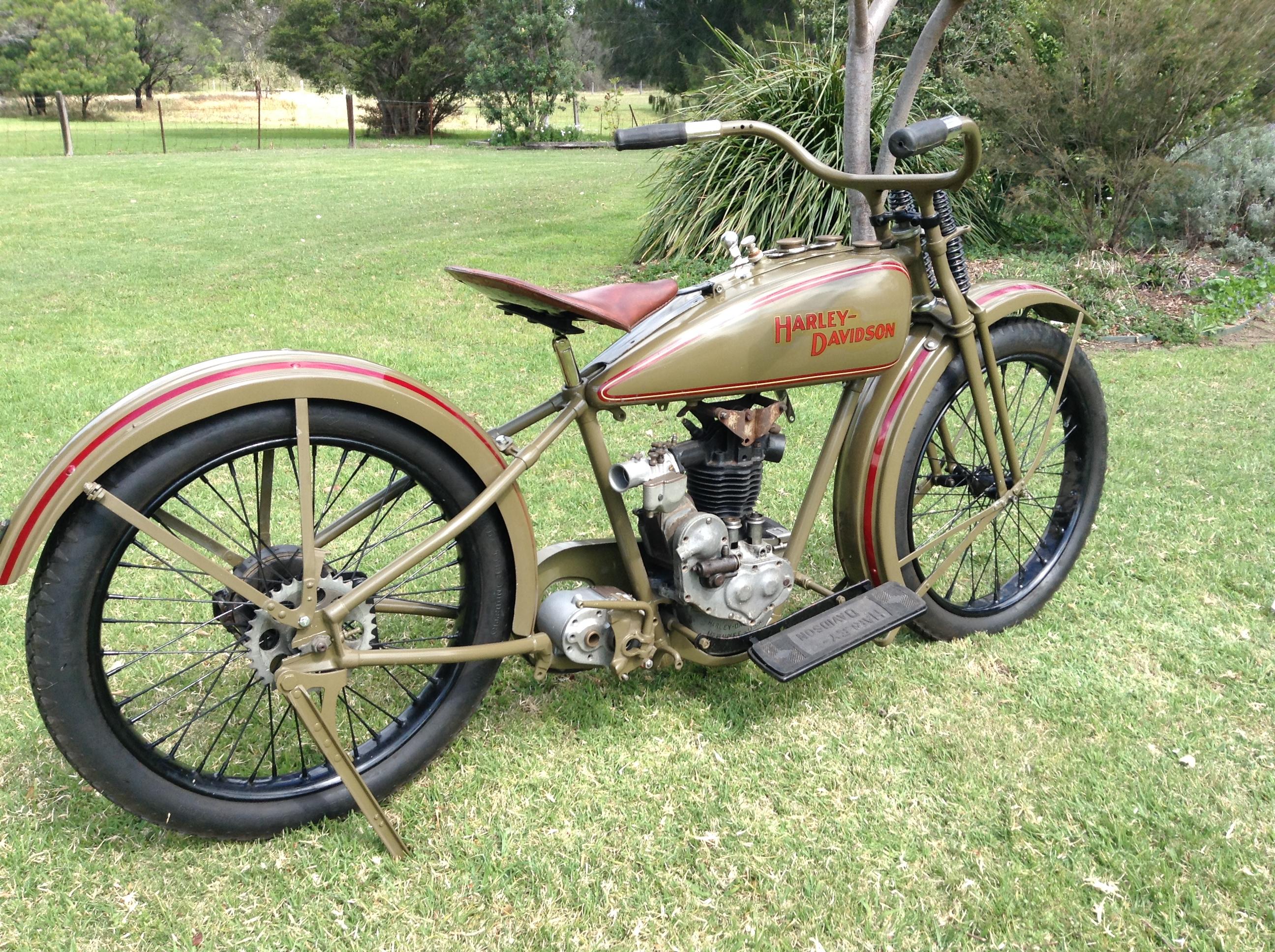 1928 Harley Davidson Ohv 350cc Sold: 1926 AA Harley Davidson OHV 003