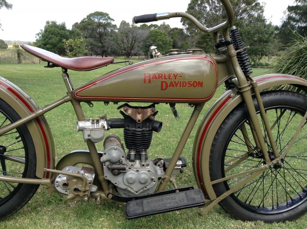 Oldmotodude 1928 Harley Davidson Ohv Peashooter For Sale: 1926 350cc Harley Davidson OHV1926 AA Harley Davidson OHV