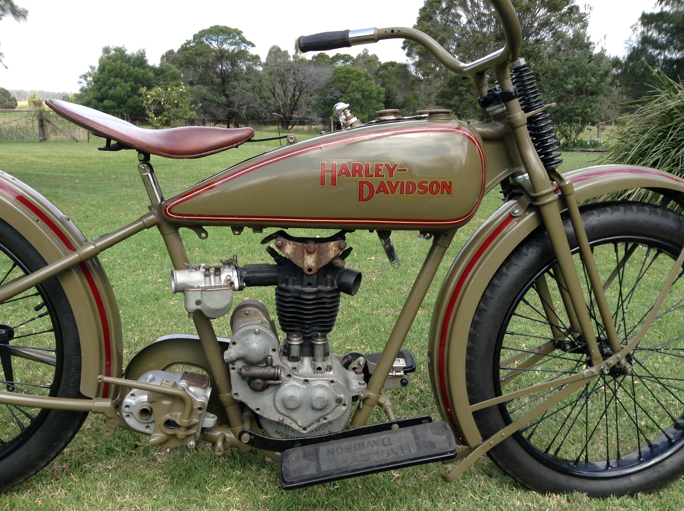 1926 Harley Davidson Ohv Peashooter Sold: 1926 350cc Harley Davidson OHV1926 AA Harley Davidson OHV