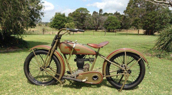 1926 Harley Davidson OHV 'Peashooter' – SOLD