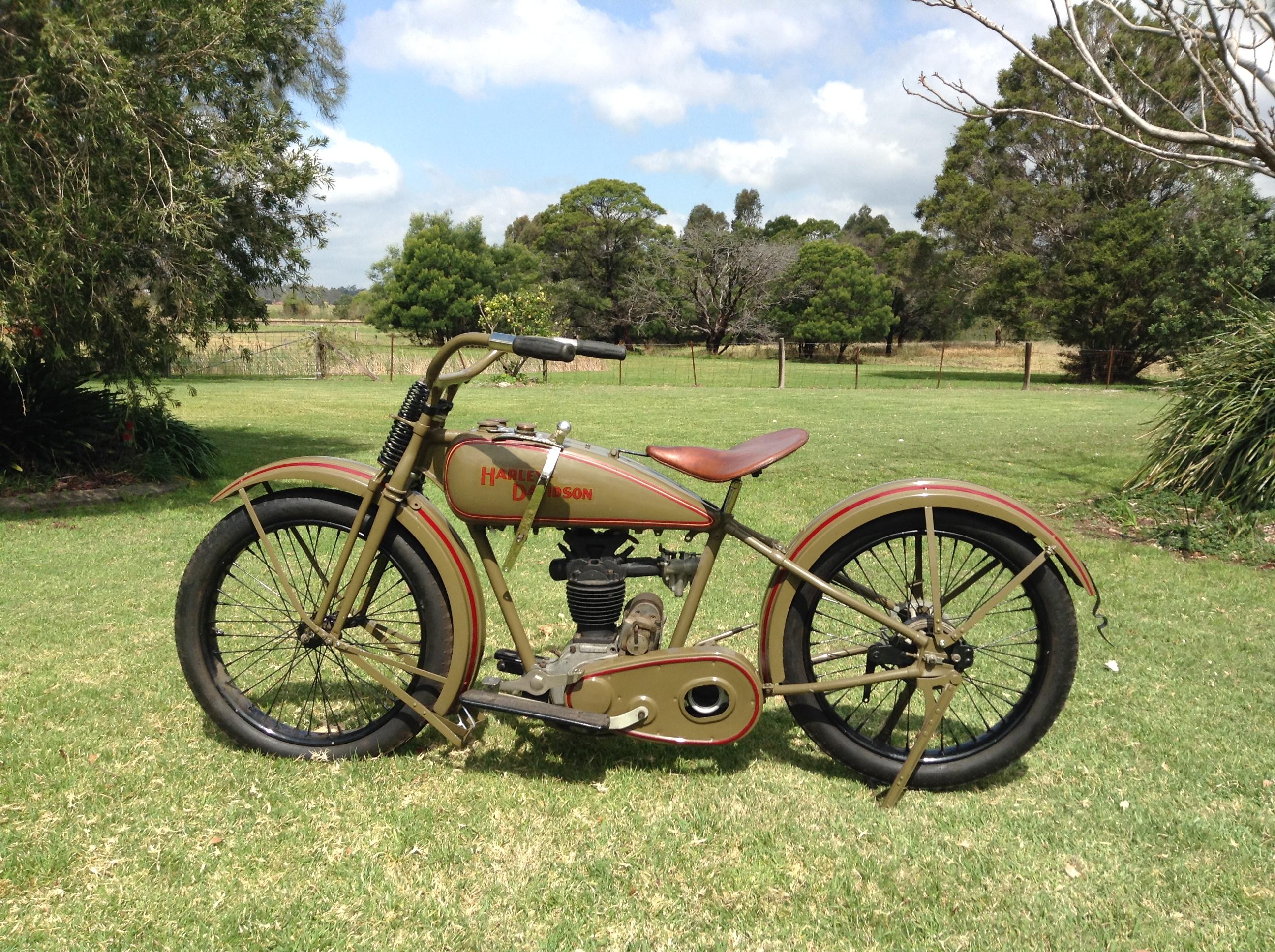 1926 Harley Davidson Ohv Peashooter Sold
